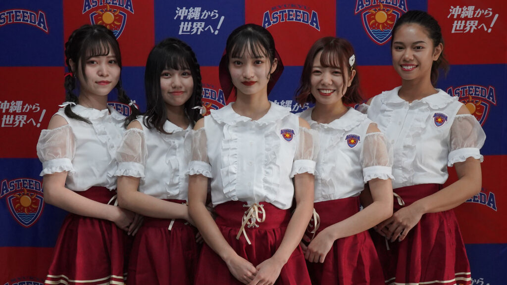Ka☆Chun!from 琉球アスティーダ 初舞台の様子5